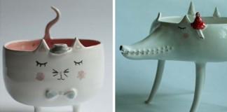 Roztomilá keramika Vám rozžiari všedný deň | Marta Turowska
