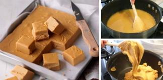 Rýchly recept na domáce maslové karamelky zo 4 ingrediencií