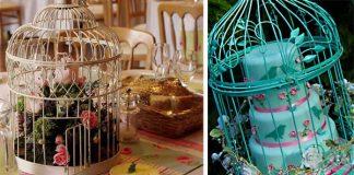 Vtáčia klietka ako romantický doplnok alebo dekorácia do interiéru