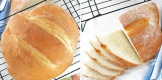 Recept na domáci chlieb, ktorý máte hotový za 90 minút
