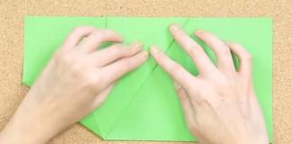 DIY návod na jednoduchý a lacný origami organizér z papiera