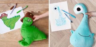IKEA premieňa detské kresby na plyšové hračky IKEA