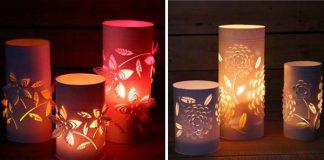 Dekoratívne svietidlá, ktoré sa krásne hrajú so svetlom a tieňom