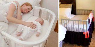 Detské postieľky pri mamičkách | Kreatívne nápady