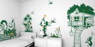 Kreatívne nástenné tapety do detskej izby, ktoré si Vaše deti zamilujú na prvý pohľad!
