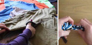 Hračka pre psíka vyrobená zo starých tričiek | DIY návod ako využiť tričká