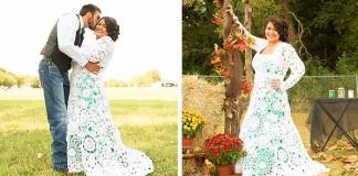 Háčkované svadobné šaty vlastnými rukami | Abbey Ramirez-Bodley
