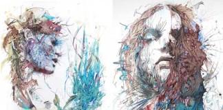 Sú originálne a plné emócií. Portréty maľované čajom, vodkou a inkoustom