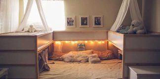 Kreatívna mamina vymyslela posteľ pre svoju 7-člennú rodinu