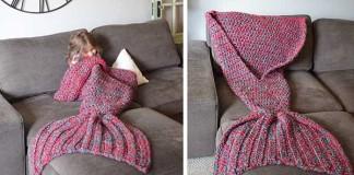 Kreatívne háčkované deky morské víly | Melanie Campbell