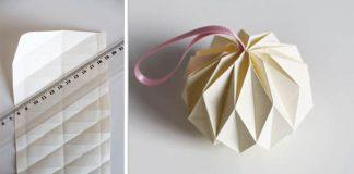Origami ozdoba nielen na vianočný stromček | Návod ako sa to robí