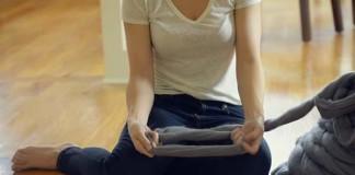 Prstami pletený koberec z hrubej priadze | Návod ako na to