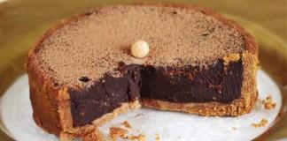 Nepečená čokoládová torta z 5 ingrediencií