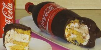 Torta v tvare fľaše Coca-Coly na nerozoznanie od originálu | Recept