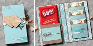 Scrapbook technika | Ako originálne zabaliť sladký darček