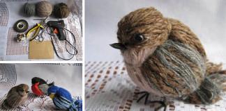 Vtáčiky vytvorené z vlny | DIY nápad a návod na milú dekoráciu
