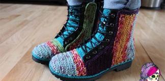 Falošné háčkované topánky | DIY návod ako na to