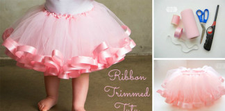 Detská tutu suknička s lemom   DIY nápad a návod ako na to