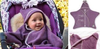 Flisové deky pre deti v podobe hviezdy | DIY nápad