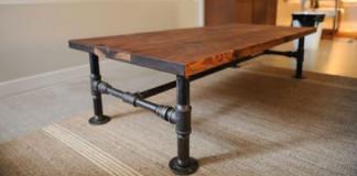 Konferenčný stolík v industriálnom štýle | DIY nápad