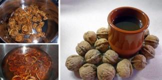 Orechový čaj | Recept na čaj z orechových škrupín proti kašľu