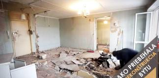Rekonštrukcia bytu v pôvodnom stave | Inšpirácia ako postupovať