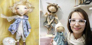 Lyrické handmade bábiky Yana Yahina | Precízne spracované bábky