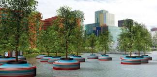 V Rotterdame vytvoria plávajúci les prvý svojho druhu