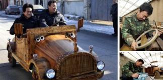 Ekologický, ekologickejší, drevený elektromobil!