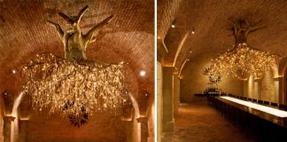 Luster vyrobený zo stromu | Donald Lipski a Jonquil LeMaster