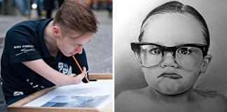 Mariusz Kedzierski sa narodil bez rúk, to mu nezabránilo kresliť