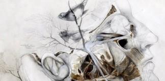 Nunzio Paci vo svojich maľbách spája prírodu s anatómiou človeka