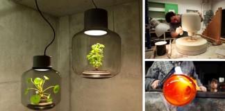 Unikátna lampa, v ktorej žijú rastliny sebestačne | We Love Eames