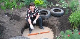 Záhradné jazierko z pneumatiky | DIY návod ako postupovať