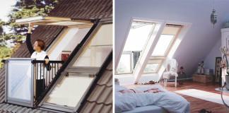 Inovatívne strešné okno sa za pár sekúnd dokáže zmeniť na balkón!