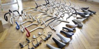 Časti starých bicyklov mení na nástenné trofeje | A. Scheiger