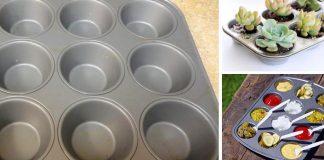 Plech na muffiny | Kreatívne nápady využitia inak ako na pečenie