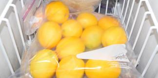 Mrazený citrón | Prečo dávať citróny zamraziť
