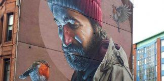 Fotorealistické street art dielo zdobí ulicu Glasgowa | Smug