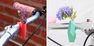 Mini vázy a kvetináče na bicykel | Colleen Jordan