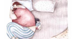 Snezhana Soosh | Nádherné ilustrácie vzťahu otca a dcéry