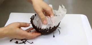 Čokoládové misky, rýchlo a jednoducho | DIY návod ako postupovať