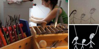 Originálne šperky podľa detských kresieb | Handmade inšpirácia