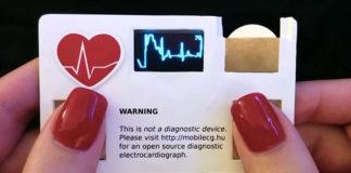 Vizitka MobilECG dokáže zmerať váš pulz