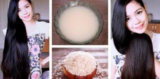 Ryžová voda na suché a poškodené vlasy | Homemade nápad a návod