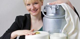 Anke Domaske vytvára šaty z prírodnej mliečnej tkaniny