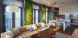 Mladá rodinka chcela moderný byt v spojení s prírodou... A takto im to kreatívni dizajnéri vymysleli!
