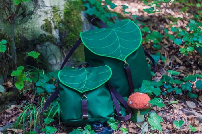 Gabriella Moldovanyi Leafling batohy s prirodnym motivom 10