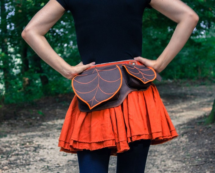 Gabriella Moldovanyi Leafling batohy s prirodnym motivom 5