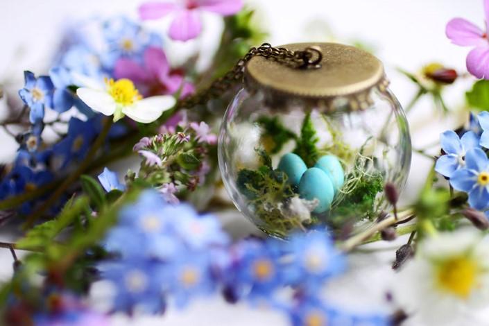 Kay Bells handmade sperky miniaturne teraria 10